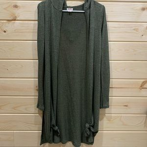 Olive Green Light weight Cardigan